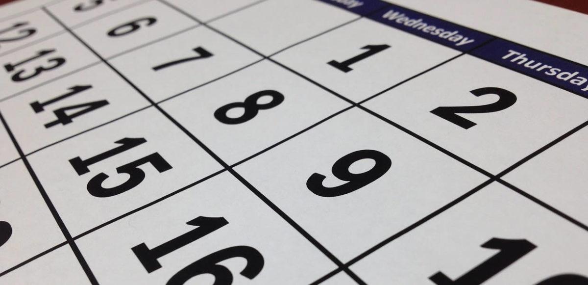 St. Gabriel's School Calendar