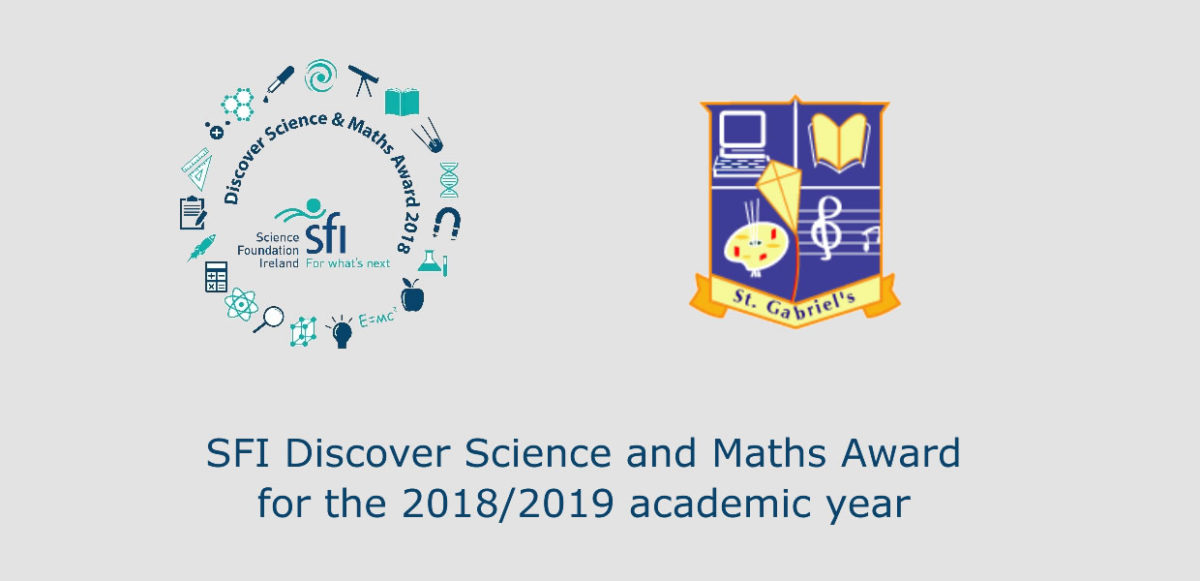 SFI Discover Science and Maths Award