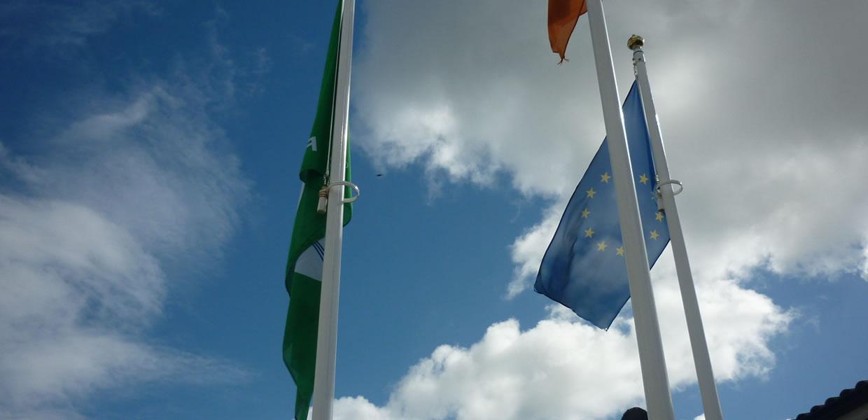 Green Schools Flag at St. Gabriels