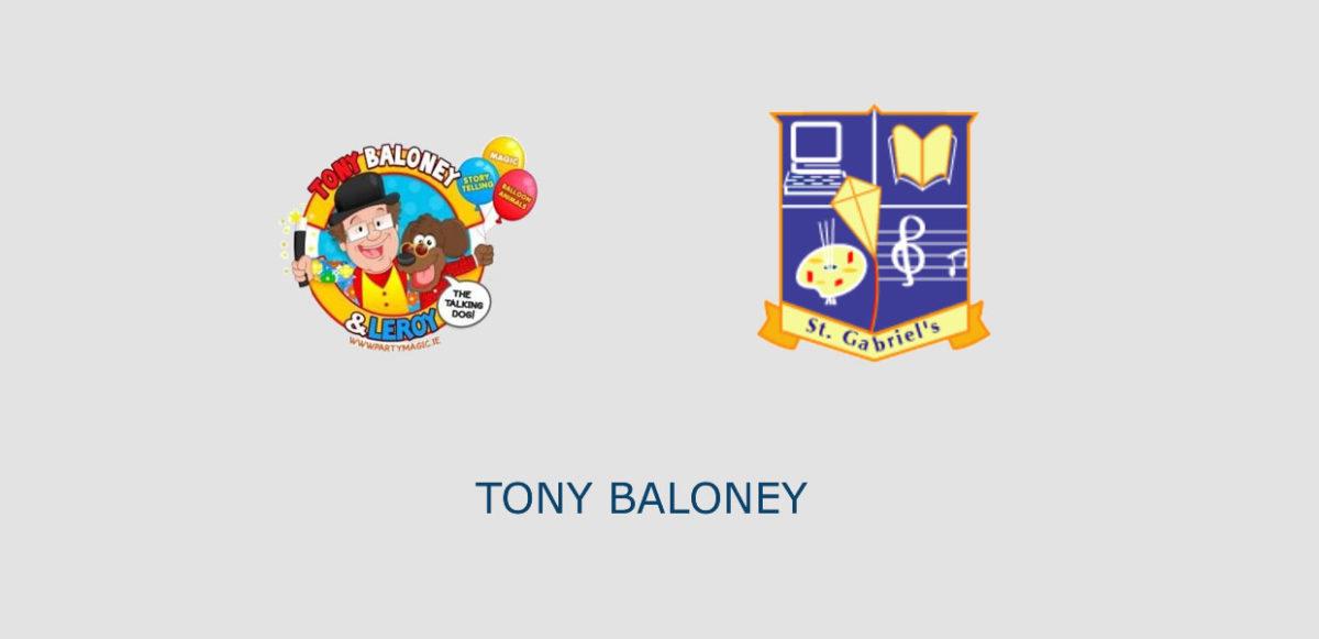Tony Baloney, The Nutty Professor at St. Gabriel's School